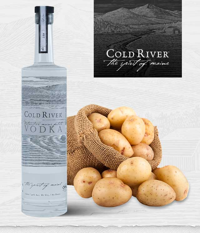 Handcrafted Maine Potato Vodka